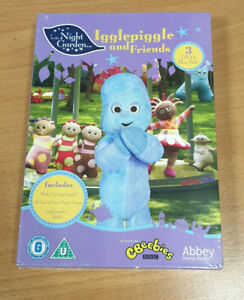 IN THE NIGHT GARDEN - Igglepiggle And Friends DVD Box Set - NEW AND SEALED