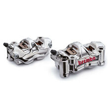 Brembo HP Front Radial Brake GP4RX GP4-RX Calipers Kit w/ Aluminum Pistons 108mm