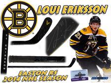 LOUI ERIKSSON Signed BOSTON BRUINS Game Used Stick w/COA - EASTON RS