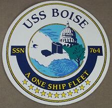 "US Navy Decal - Sticker - USS Boise SSN-764 ( 5"" Diameter )"