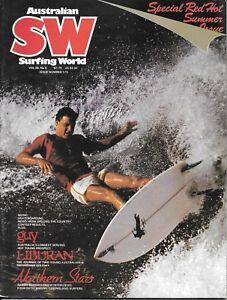 Australian Surfing World magazine February 1979 Vol. 28 #5 Hot Summer issue  VG+