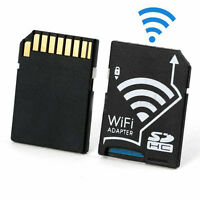 Wireless Wi-Fi Micro SD TF Flash Card SDHC Memory Card Class 10 Share Adapter