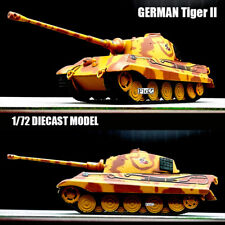 WWII GERMAN Heavy Tank Tiger II 1/72 diecast Model