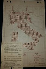 Antique 1940's Army Map Service Collection Italy Ams M691 1:100,000 Ww 2