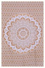 Twin Indian Mandala Bedspread Hippie Tapestry Wall Hanging Throw Rug Room Decor