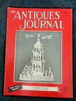 Antiques Journal 1950 Chauncey Boardman Bristol Clockmaker Xmas Perfume Bottles