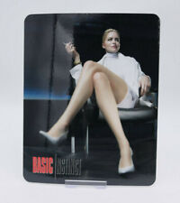 BASIC INSTINCT - Glossy Fridge / Bluray Steelbook Magnet Cover (NOT LENTICULAR)