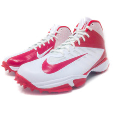 Nike Zoom Vapor Pro Mens 11 Red White Football Turf Cleats