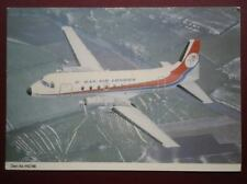 POSTCARD AIR DAN-AIR HAWKER SIDDELEY 748 PROP JET
