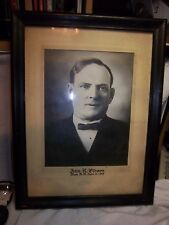 mark master mason framed picture 1898 M M John R Gibson ND freemasonry 4th degre