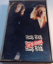 CHEAP TRICK Original tape cassette LAP OF LUXURY 1988 cbs records