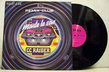 """MAXI 45 tours CC RAIDER Disque 12"""" MONTE LE SON Electro SCORPIO 1926651 F Réduit"""