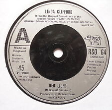 """LINDA CLIFFORD - Red Light - Excellent Condition 7"""" Single RSO 64"""