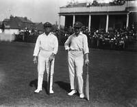 OLD PHOTO of 1921 Australian Cricketers Charles Mccartney & Herbert Collins