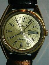 VINTAGE CITIZEN WATCH AUTOMATIC 21 JEWELS GOLD PLATED 4-823745 K