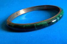 Vintage Bracelet en Malachite
