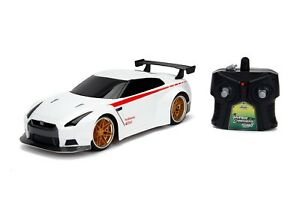 2.4Ghz HyperChargers 1/16 JDM Tuners 2009 Nissan GT-R Radio Control Car (White)