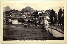 Cartolina Formato Piccolo - Avigliana - Panorama E Sacra Di San Michele Non Viag