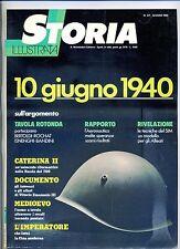STORIA ILLUSTRATA#GIUGNO 1980 N.271#10 GIUGNO 1940#CATERINA II#Mondadori