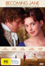 Anne Hathaway James McAvoy BECOMING JANE - PERIOD ROMANTIC DRAMA DVD