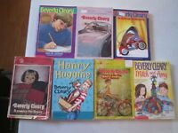 BEVERLY CLEARY LOT OF 7 PAPERBACKS Ralph S. Mouse Henry Huggins Ramona the Brave