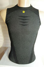 Mavic Men's Sleeveless Base layer Tant Top Cycling Size S-M Made in Romania VGC