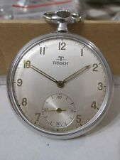 RARE VINTAGE TISSOT pocket WATCH 15 jewels SWISS MADE, cal. 38.2