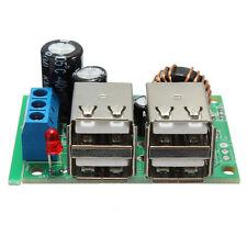 Converter USB Step-down Power Supply Module New DC 12V 24V 40V to 5V 5A Copper
