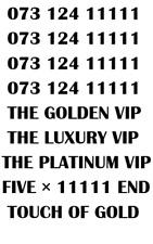 GOLD LUXURY VIP PLATINUM RARE 11111 BUSINESS MOBILE NUMBER - LUXURY 11111 VIP