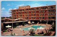 The Marriott Motor Hotel & Hot Shoppes Restaurant in Washington D.C. Postcard