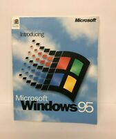 Vintage Introducing Microsoft Windows 95 Manual Only Computer Operating System