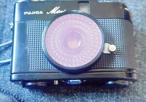 Fujica Mini Half Frame Camera With Pouch NO Exposure Meter