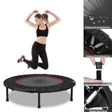 "Trampoline 40"" Folding Gym Fitness Exercise Rebounder Kids Adults Cardio Trainer"