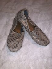 Women's Toms Slip On Shoes-Size 9.5