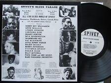 BLUES LP: SPIVEY'S BLUES PARADE Sonny Boy Williamson, Walter Horton, Sugar Blue