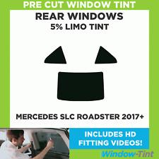 35/% De Luz Trasera pre corte tintado Mercedes A-class 5 Puertas 2013