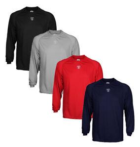 Reebok Equipment NFL Mens Long Sleeve Lightweight Athletic Shirt, Color Options
