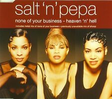Maxi CD - Salt 'N' Pepa - None Of Your Business - Heaven 'n' Hell - #A2780