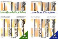 Lern Querflöte spielen - Die Querflötenschule Band 1 oder 2 - mit CD