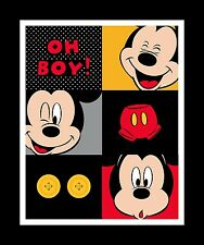 Disney Mickey Mouse Character Cotton Fabric Springs Mickey Oh Boy CP55423 PANEL