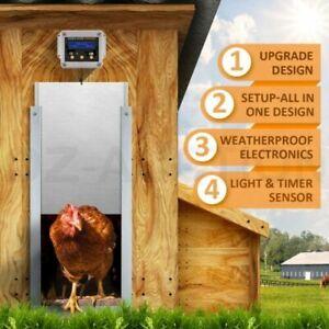 Automatic Chicken Door - COMPLETE - NEW Microprocessor Design