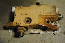 CONTROL OUTLET VALVE D9NNE541AA| Ford 555B Backhoe