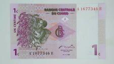 1C Banknote Banque Centrale du Congo 1997 UNC