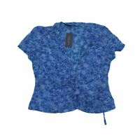 French Connection Women's Short Sleeve Top 12 Colour:  Blue