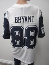 NWT DALLAS COWBOYS BRYANT 88 ADULT NIKE STITCHED WHITE LIMITED JERSEY SIZE XL