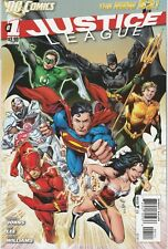 Justice League #1 4th Printing - VF+/NM - New 52