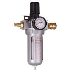 """1/2"""" Filtre Régulateur de Pression d'Air Compresseur 10µm + Rapide"""