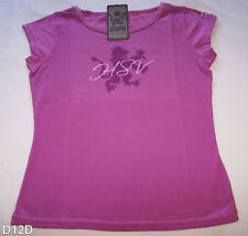 Holden Special Vehicles HSV Ladies Mauve Short Sleeve T Shirt Size 12 New