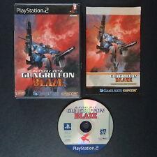 GUNGRIFFON BLAZE PlayStation 2 NTSC JAPAN・❀・SHOOTER MECH CAPCOM PS2 ガングリフォン ブレイズ