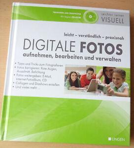 Handbuch, Digitale Fotos mit CD, leicht - verständlich - praxisnah; neuwertig